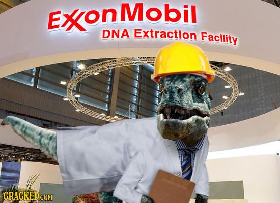 EXoNMobil DNA Extraction Facility CRACKEDCON