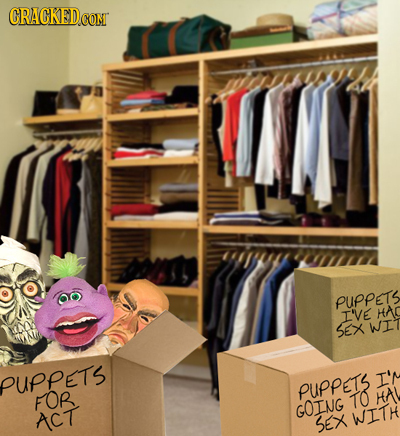 CRACKEDCO coN asoy PUPPETS I'VE HAC SEX WI PUPPETS I'N PUPPETS FOR TO HA GOING ACT SEX WITH