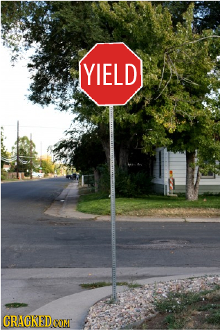 YIELD CRACKED