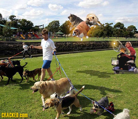 If Video Game Power-Ups Existed in Everyday Life