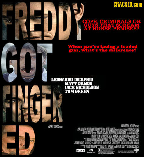 If Stupid Movies Were Remade as Oscar Bait
