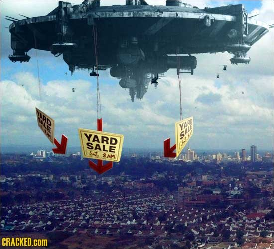 YARD YARD sALe SALE sa. 8AM CRACKED.COM