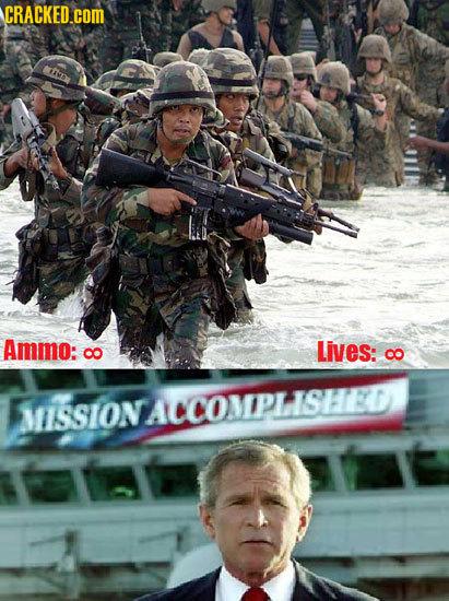 CRACKED.coM Ammo: CO Lives: Co MISSIONACCOMPLISHED