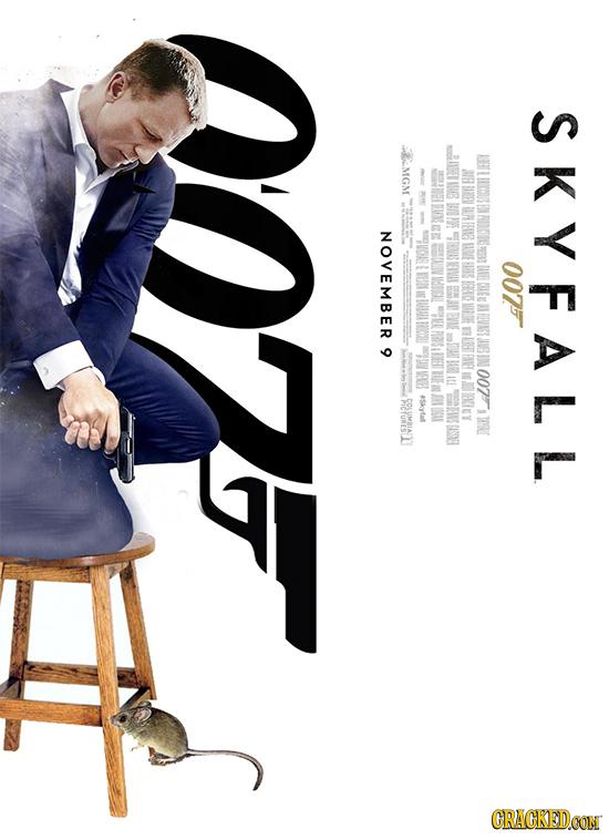 SKYFALL MGM H 10E BAIPL EFIB NOVEMBER 007 RA REVNS oo7T *Skytaf CRACKEDCON
