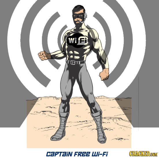 Wi Fi TETI Captain FREE Wi-Fi CRACKED.OON