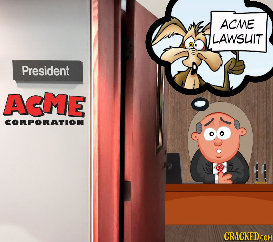 ACME LAWSLIT President AEME CORPORATION CRACKED COM