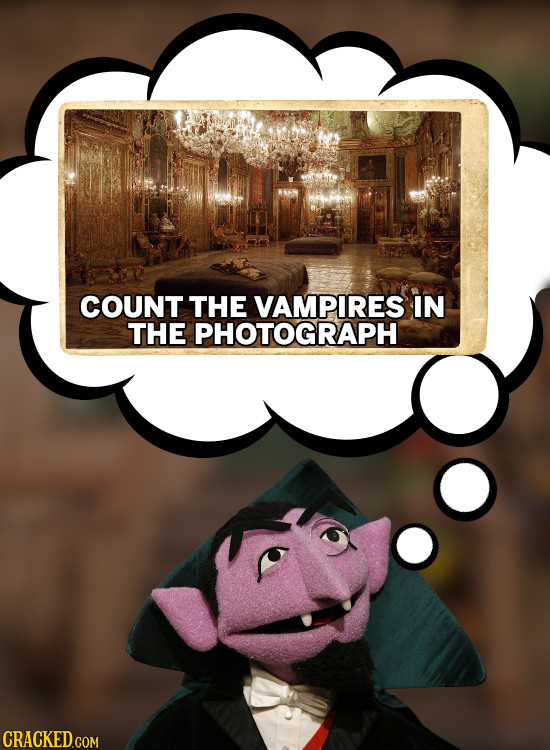 COUNT THE VAMPIRES IN THE PHOTOGRAPH