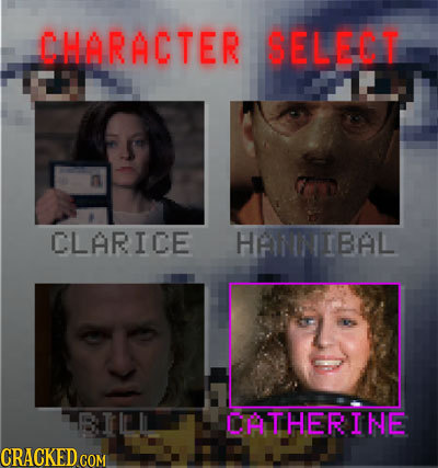 CHARACTER SELECT CLARICE HAMNIBAL BILLI OATHERINE CRACKED COM