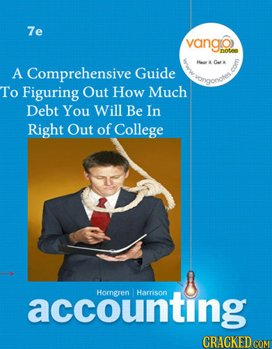 7e vango nOtS Heor a got 5 A Comprehensive Guide vangonotes To Figuring Out How Much Debt You Will Be In Right Out of College accounting Horngren Harr