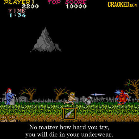 PAVE1 70P JCORE 2200 10000 TIME 1:34 No matter how hard you try, you will die in your underwear.