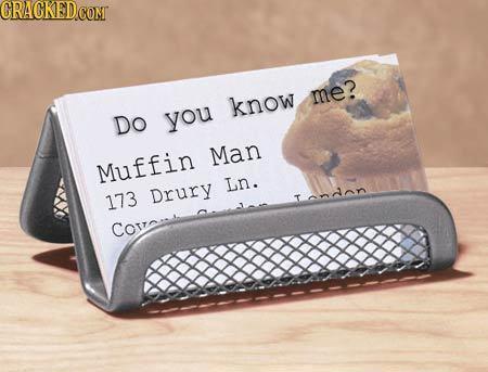 CRAGKED COMT me? know Do you Man Muffin Ln. 173 Drury Tandnn COtrc.