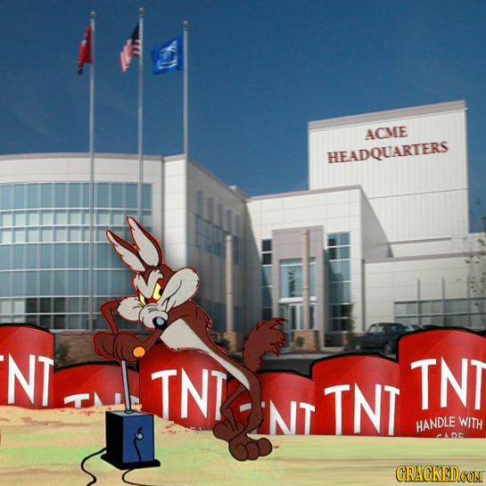 OA ACIME HEADQUARTERS NT INT TNT NT TNT HANDLE WITH ADE