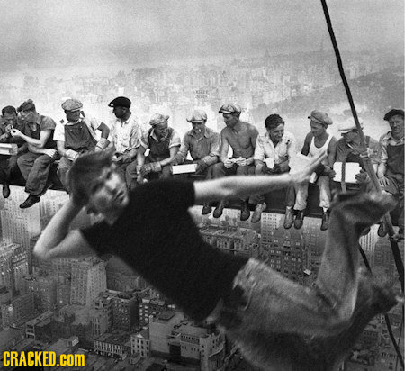 History's Most Iconic Images (Ruined by Photobombers)