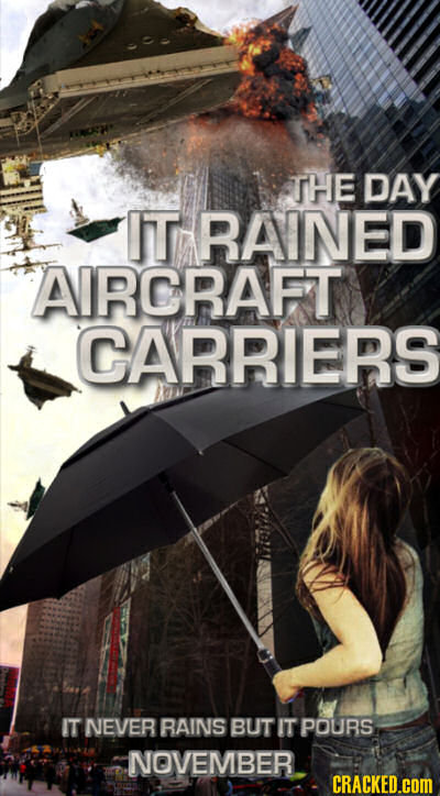 Rejected Ideas for Disaster Movies