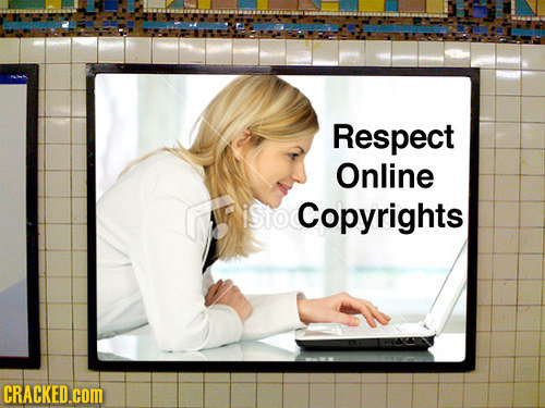 Respect Online Copyrights CRACKED.cOm