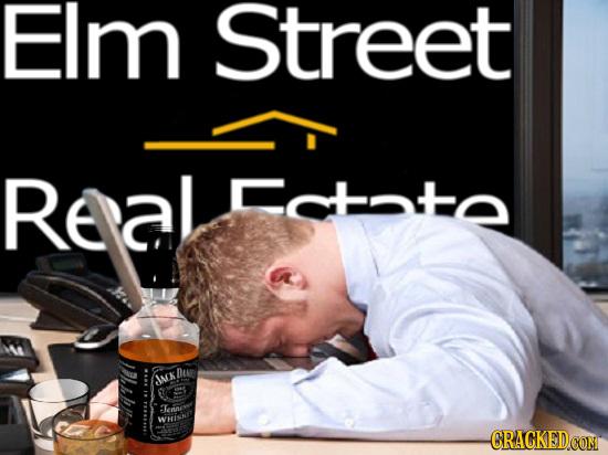 Elm Street Realstate OLOHOTO DAA JACK Ternt WHi