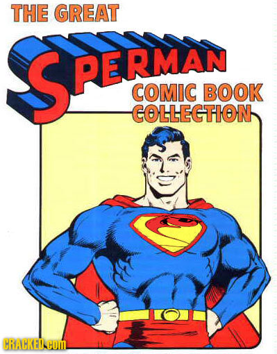THE GREAT SPERMAN COMIC BOOK COLLECTION