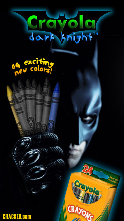 Crayola dark night exciking 64 ug colors new Crav Cra 24 eriea ICrayola Wtuere: CRAYONS CRACKED.COM