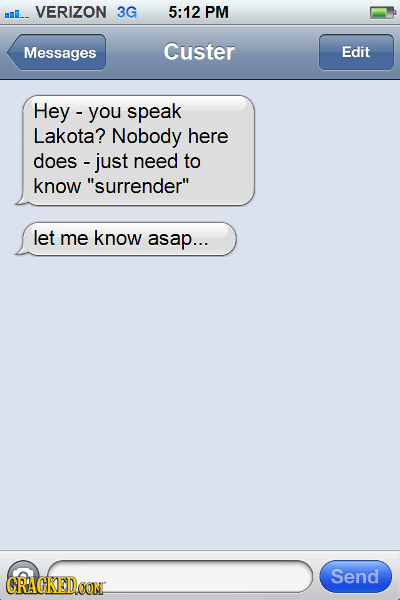 21 Last Texts Recovered From Famous Moments in History