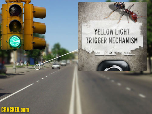 YELLOW LIGHT TRIGGER MECHANISM 1302 GOYT PRGESIY PATEND CRACKED.cOM