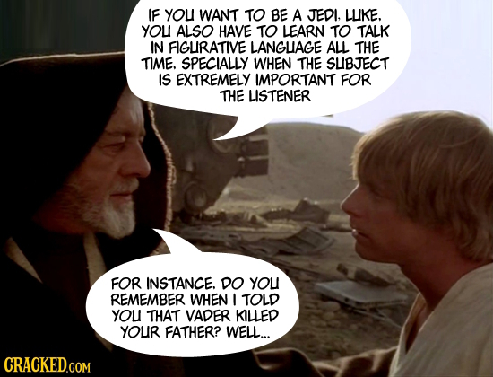 What 32 Movie Characters Should Have Said