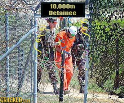 10.000th Detainee GRACKEDCO CON