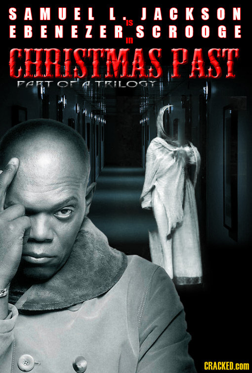 SAMUEL L JACKSON IS EBENEZER SCROOGE CERISTMAS PAST RT A TLOCY CRACKED.cOM