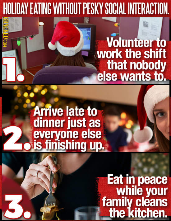 How To Survive Holiday Parties In Just Three Steps