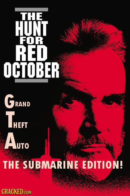 THE HUNT FOR RED OCTOBER GRAND RAND THEFT HEFT AuTo THE SUBMARINE EDITION! CRACKED COM