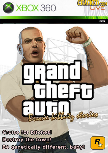 (RACKODE CON XBOX 360. LIVE grand theft UTn Brcs kabbetz lores Cruise for bitches! Destroy the town! R Be genetically different. baby!