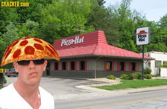 CRACKED.COM Piza PiHat Hat