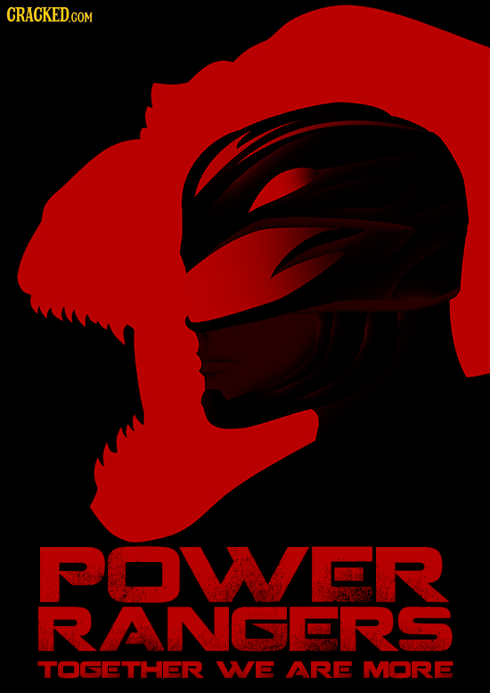 POWER RANGERS TOGETHER WE ARE MORD
