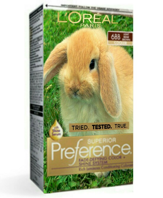 LOREAL PARIS 688 TRIED. TESTED. TRUE. Preference SUPERIOR ADE DEFYEIG COO SHNSYSTEMA 8d is Ce