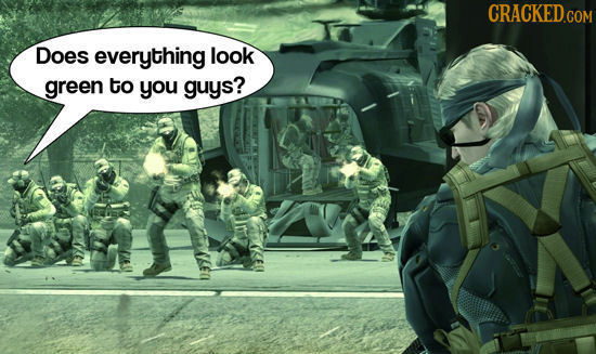 What Video Game Background Characters Are Thinking