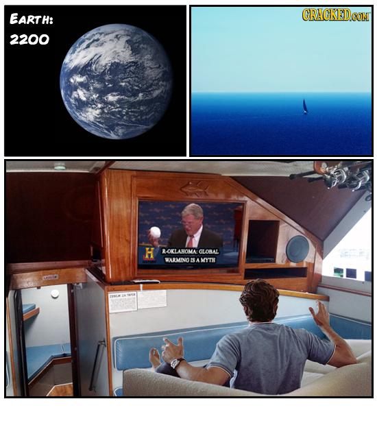 EARTH: 2200 H R-OKLAHOMA GLOBAL WARMING ES A MYTH