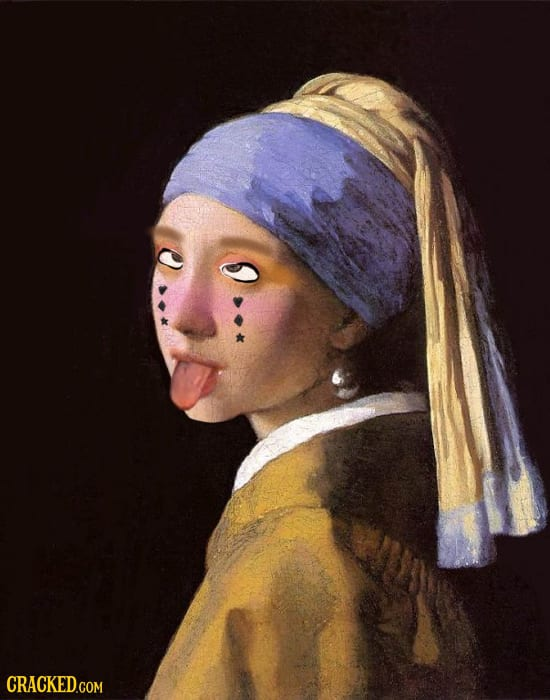 If Famous Art Was Made Today