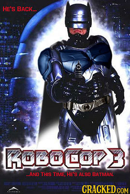 HE'S BACK... KOBOCOPB AND THIS TIME, HE'S ALSO BATMAN
