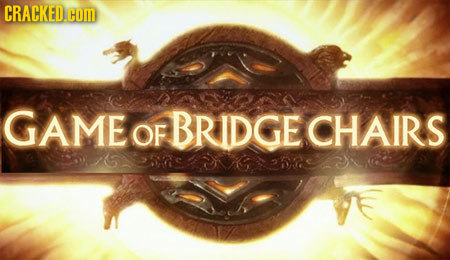 GAME BRIDGE OF CHAIRS