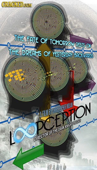 CRACKEDCON THE fATE OF TOMORROW RESTS ON THE DREAMS OF YESTERDAY BACKWARDS CNEUMBECHRSTOPHERML IPCFRUOM ogOETHEDARKIA
