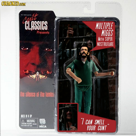 If Background Characters Got Their Own Action Figures