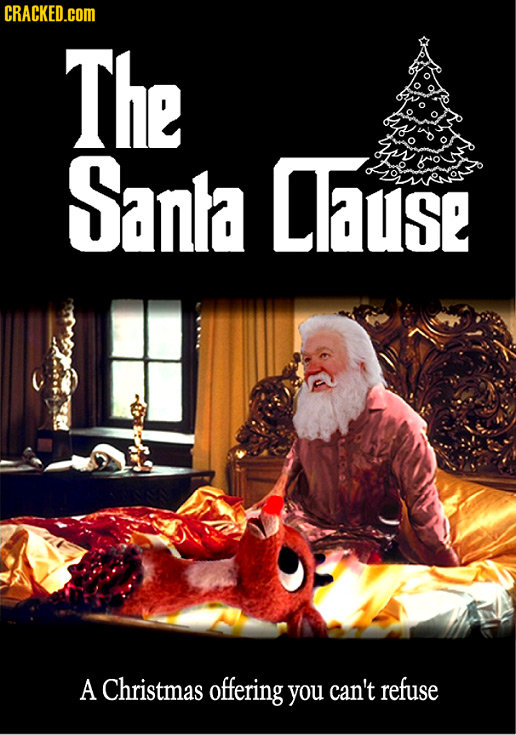 CRACKED.COM The Sanla Cause A Christmas offering you can't refuse