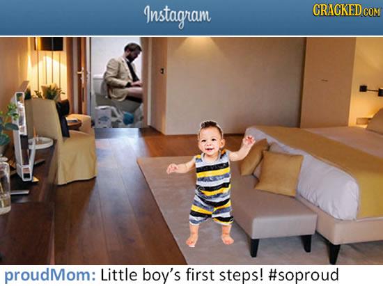 Instagram CRACKEDC COM proudMom: Little boy's first steps! #soproud