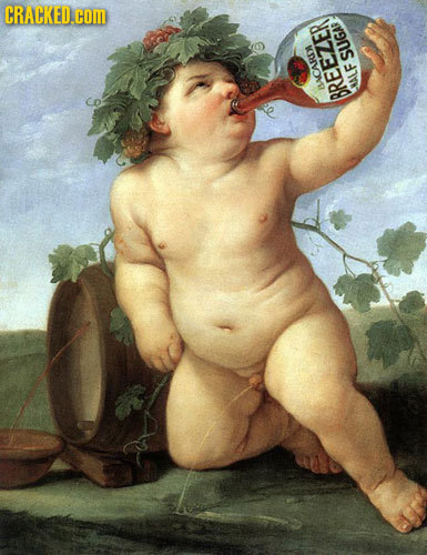 Product Placement You Never Noticed in Famous Works of Art