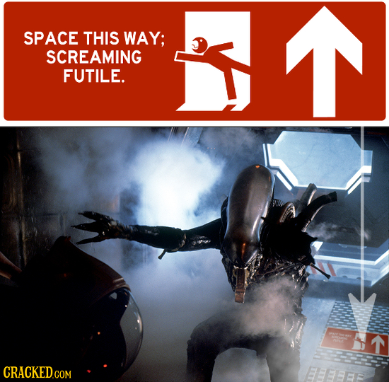 SPACE THIS WAY; SCREAMING FUTILE. T EEBEFF