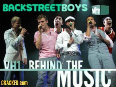 BACKSTREETBOYS Vh SS 1 REHIND THE MUSIC CRACKED.