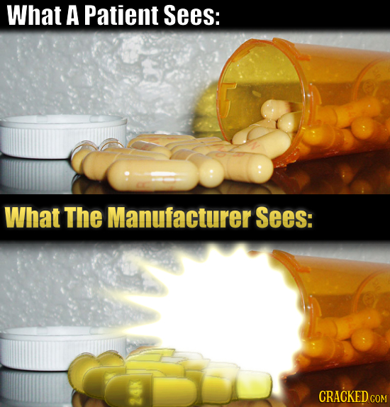What A Patient Sees: What The Manufacturer Sees: CRACKED COM 24K