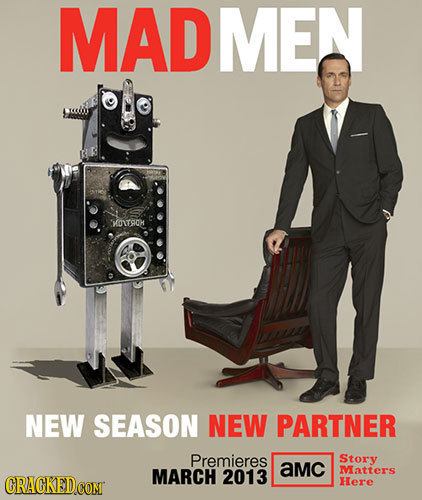 MADMEN KOITACH NEW SEASON NEW PARTNER Premieres Story MARCH aMC 2013 Matters ORAGKEDCON Here