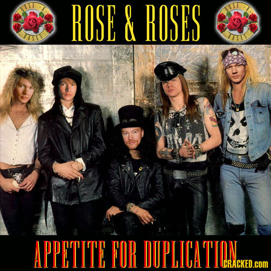 ROSE & ROSES ITS LITI APPETITE FOR DUPLICATION CRACKED.cOM