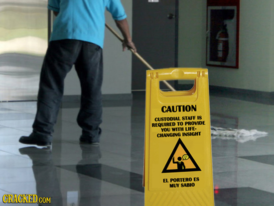 CAUTION CUSTODIAL STAFE IS TO PROVIDE REQUIRED YOU WITH UFE. CHANGING INSIGHT EL PORTERO ES MUY SABLO CRACKED COM