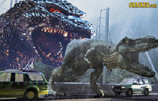40 Great Movies Made Better by Adding Godzilla